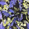 Diseñado flor de gasa impresa digital de prendas de vestir