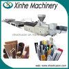 Extrudeuse en bois de profil de qualité faisant la ligne de production à la machine