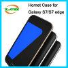 Caisse antichoc de l'armure TPU+Silicone pour le bord de Samsung S7