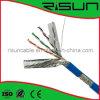 Kabel des China-heißes Verkaufs-Hochleistungs--SFTP Cat5e (CM/CMR/LSZH Kurbelgehäuse-Belüftung, PET)