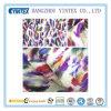 56  ont tricoté 100% le tissu imprimé double par satin de polyester, 20+26 230*98*58