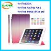 3-vouwend Geval van de Tablet van het Leer van de Reeks van de Regenboog het Slimme voor iPad