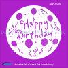 Круглый инструмент торта восковки торта с днем рождения