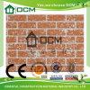 Paredes de piedra exteriores del panel del cemento decorativo de la fibra