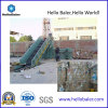 Hellobaler Automatic Hydraulic Waste Paper Baling Press con Conveyor