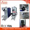 30W de facultatieve Automatische Laser die van de Vezel Machine voor Metaal merken