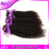 Mongolisches verworrenes lockiges tiefes lockiges Jungfrau-Haar des Haar-3bundles, preiswerter mongolischer Afro verworrene lockige menschliche Vigin Haar-Webart