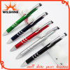 Metallic Paint (BP0206)를 가진 대중적인 Promotional Plastic Ball Pen