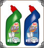 Decontamination fuerte Acid Toilet Cleaner 500ml, 750ml