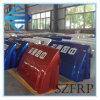 Desviación del aire de la fibra de vidrio SMC de FRP para los carros