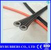 Tubo flessibile idraulico della gomma R7/R8 di Braidedsae 100 della fibra del tubo flessibile