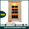 Cabina della stanza di sauna del riscaldatore del carbonio di Infrared lontano delle 2 genti (KL-2SQ)