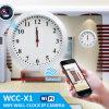 Батарея - приведенная в действие камера слежения IP Motion Detect 1.0 Megapixel HD Wall Clock WiFi