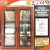 Окно Casement оборудования правды французское с древесиной дуба