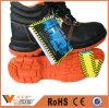 Ботинки лодыжки черноты ботинок здания индустрии Китая взбираясь ботинки безопасности