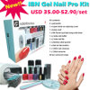 Ibn Latest Gel Poolse PRO Kit met LED Lamp