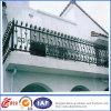 Balcón del hierro labrado/escalera modificada para requisitos particulares/pasamanos de acero