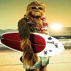 Star Wars - Chewbacca con il manifesto del surf 20X30