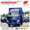 Lichte Plicht 6000mm Lengte 108HP Box Van Cargo Truck