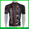 Digital faite sur commande Sublimation Printing Cycling Shirt avec Full Zipper