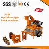 Máquina de bloqueio manual do tijolo do equipamento da empresa de pequeno porte