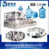 Línea de relleno automática pequeña escala del agua de botella del barril de Qgf-100