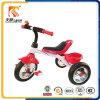 Absatzfähige Kind-Spielwaren-Stahlrahmen und PU-Sitzkind-Dreirad mit hinterem Korb