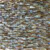 淡水の貝のモザイク・タイル、上がる3D網の共同継ぎ目が無いモザイク(COFM-JL-BRE30)