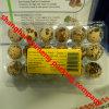 3X6 18units cancelam bandejas plásticas Austrália do ovo de codorniz do PVC