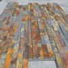Ardósia amarela oxidada natural ao ar livre Manufactured Ledgestone para a parede