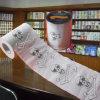 Fournisseur estampé mou de vente en gros de papier de toilette d'ange