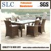 Os estilos diferentes do ajuste da tabela/tabela de alumínio ao ar livre ajustam-se/tabelas de vime ajustados (SC-B9514)