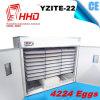 Hhd vollautomatisches Huhn-Ei, das Maschine für 4224 Eier ausbrütet