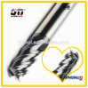 D10.0mmx25mmx75mm 4 Flutes Flat 100% Tungsten Solide Carbide End Mill for CNC Milling