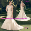 Свободно Shipping Mermaid Bridal Wedding Dress с Keyhole Back