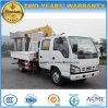 Isuzu 두 배 택시 4X2 트럭에 의하여 거치되는 기중기 2 톤