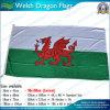 90X180cm 160GSM Spun Polyester Galês Dragon Flag (NF05F09053)