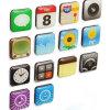 Etiquetas populares Seeling quentes do telefone móvel 3D