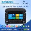 Navigation stéréo du véhicule GPS de prix usine de Zestech pour Hyundai Sonata