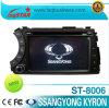 De Speler van de Auto DVD van Kyron van Ssangyong