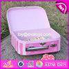 Rectángulo de juguete de madera de los mejores niños rosados encantadores de la venta para la venta W08c171
