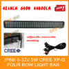 5W CREE xp-g 4 Row LED Light Bar (LBL5 640W)
