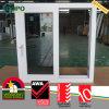 Doppia finestra di scivolamento della lastra di vetro di UPVC con vetro tinto