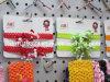 Arco del nastro/clip ricci arco dei capelli sulle fasce del Crochet (B-15)