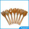 Cuchara de bambú natural de los utensilios de cocina