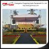 Структура нагрузки ферменной конструкции 20mx15m шатра крыши подгонянная размером большая