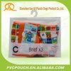 Plastic Zak Van uitstekende kwaliteit van de Haak van de Hanger van de Douane van de Zak van EVA/van pvc de Duidelijke Berijpte voor Kleren Paking