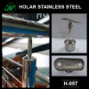 Поддержка поручня нержавеющей стали, части лестницы