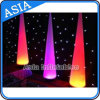 결혼식 사건을%s 최신 판매 팽창식 LED 가벼운 기둥