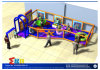 Campo de jogos interno do padrão europeu para a criança